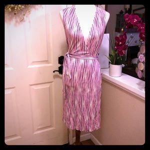 100% Silk Sleeveless Diane Von Furstenberg Dress